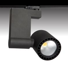 The POWER-LED #led #trackspot #light by Photec Lighting. 180 degree tilt with a clean beam makes this the perfect light fitting for #retail #lighting