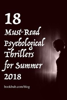 18 new psychological thrillers and mystery books to add to your reading list. #thrillers #scarybooks #readinglist