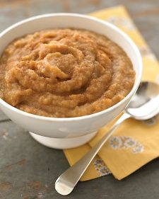 The apples and sugar caramelize on the bottom of the pan as they roast, giving the finished applesauce a marvelous depth of flavor. If you don't have a food mill, core the apples before roasting; after they're cooked, puree the apples in a food processor, and strain before adding spices.