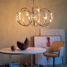 Suspension lamp TableIdeas small dining area make kitchen Hanging Lights, Wall Lights, Ceiling Lights, Small Dining Area, Accent Lighting, Rust Color, Decoration, Dining Table, Room