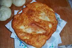 Bucataresele Vesele-retete culinare,retete ilustrate: Langose cu cartofi - Krumplis Langos