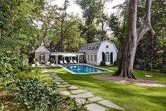 D. Stanley Dixon Architect | Garden & Pool Pavilion, Atlanta, Georgia, US