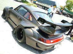 RWB such a big ass Porsche Sports Car, Porsche 911 Turbo, Porsche Cars, Maserati, Bugatti, Lamborghini, Ferrari, Akira, Vw Super Beetle