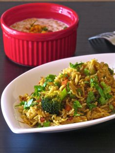 Tahari | Vegetable Casserole    Spicy and bright vegetable casserole, a Uttar Pradesh speciality.