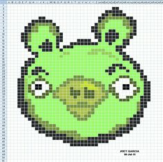 Angry birds cross stitch