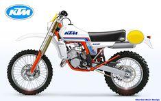 KTM 125 CLASSIC SERIES Look 1980