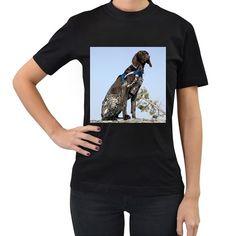 Tibet Terrier Women's T-Shirt (Black) Female Profile, High Quality T Shirts, Tool Design, T Shirts For Women, Sweatshirts, Cotton, Mens Tops, Creatures, Black
