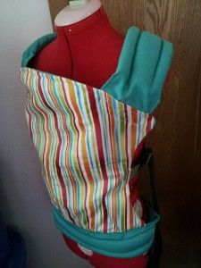Babyvv SSC Carrier with PDF Pattern & Instruction #baby carrier diy #diy baby carrier #fashion baby carrier