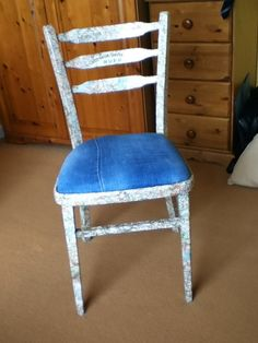 Again another fabulously redecorated chair ;) haha  #HomeDecor #DIY #Chairs