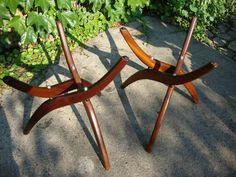 280915410291ebay  add interesting tops?  Vintage Danish Modern Mid Century Sculptural End Table Bases Eames Kagan Era | eBay