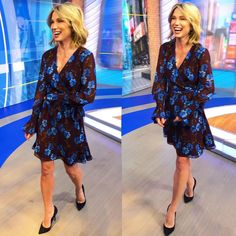 Well hey there Wednesday! wears and Long Sleeve, Sleeves, Dresses, Roberto Coin, How To Wear, Wrap Dress, Amy, Long Sleeve Dress, Fashion