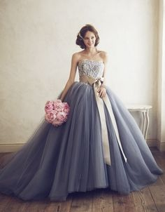 Dreamy Strapless 2016 New Sexy vestido de noiva White Beaded Lace Tulle Sash Ball Gown Wedding Dress Bridal Gown robe de mariage Grey Prom Dress, Gorgeous Prom Dresses, Elegant Prom Dresses, Women's Evening Dresses, Tulle Prom Dress, Cheap Dresses, Lace Dress, Wedding Dresses, Gown Wedding