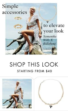 """ELEVATED"" by billabongusa ❤ liked on Polyvore featuring Billabong"