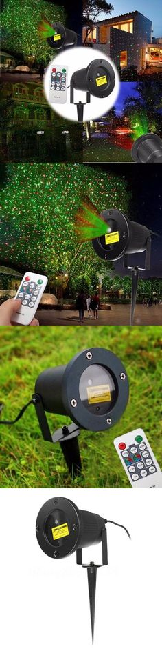 Christmas Decorations Led Moving 12 Patterns Garden Laser Projector