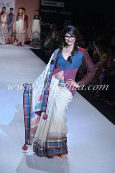 Prachi Desai walks the ramp for Shruti Sancheti at Lakme Fashion Week | PINKVILLA