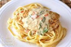 tuscan garlic chicken.