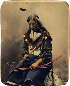 Bone Necklace, Oglala Sioux council chief, by Heyn Photo, 1899