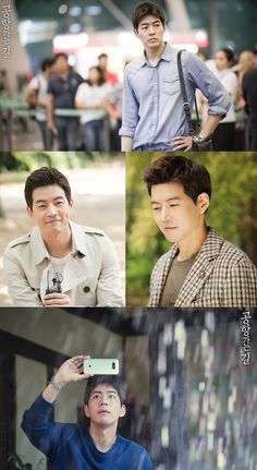Lee sang yoon in On the way to the airport set