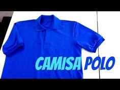 Confecção de camisa polo Parte 1 | ModaByNill - YouTube Casual, Polo Ralph Lauren, Polo Shirt, Youtube, Sewing, Mens Tops, 1, Shirts, Angel