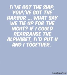 And I together - LaughingText