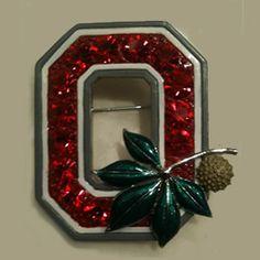 """Ohio State """"Block O"""" Pin (OSU)"""