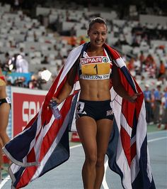 Yup!  This is the body I want.  Fit, healthy and strong!   Heptathlete: Jessica Ennis