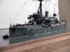 1/350th Scale - Royal Navy - HMS Dreadnought a WW I Battleship (Scratch Built by Niall Chalwin Counihan) (2)
