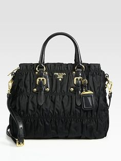 Prada - Tessuto Gaufre Tote Bag