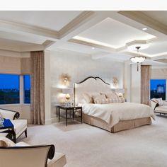 Elegant Master bedroom.