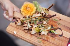 Japanese Miso Yakitori. Ravishing Radish Catering | Kate Price Photography