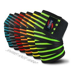 a6f267d0b2 Fitness Running Cycling Knee Support Sports Braces Elastic Bandage Tape  Compression Basketball Knee Pad Sleeve for Volleyball