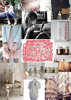 Paris Moodboard for BODIE and FOU