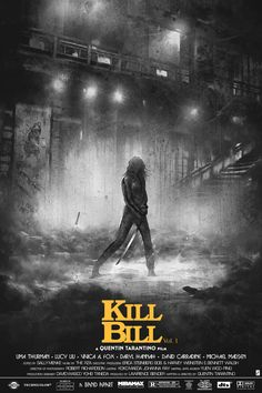 ILLUSTRATION  POSTER  KILL BILL
