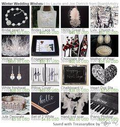 Winter Wedding Wishes by Laurie and Joe Dietrich http://etsy.me/1MJX1WV via @Etsy #Integritytt #Etsyspecialt Etsymntt #etsysocial