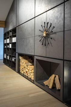 Ausstellung Penthouse 2.0 Wetscher Gmbh. living room, b&b Italia, Flos, Vitra, Flexform Design Reinhard Strasser