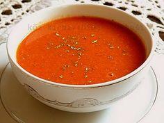 Közlenmiş Kırmızı Biber Çorbası http://www.lezzetliyemeklerperisi.com/corbalar/kozlenmis-kirmizi-biber-corbasi-tarifi.html