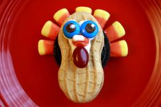 Preschool Crafts for Kids*: Thanksgiving Nutter Butter Turkey Cookies Recipe