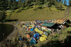 Ranu kumbolo camp Dolores Park, Camping, Travel, Campsite, Viajes, Traveling, Outdoor Camping, Campers, Tourism