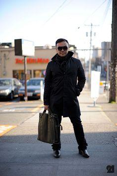 Men Dressed in Black | DRESSED IN ALL BLACK // men's fashion blog