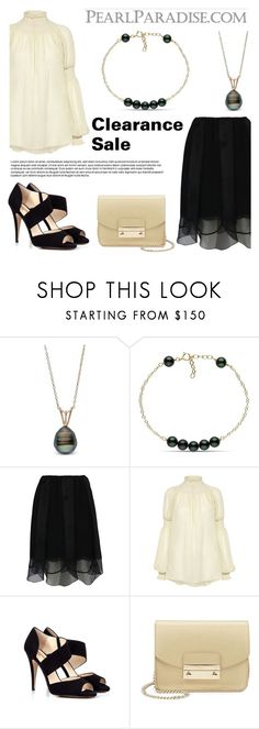 """""""Clearance sale!"""" by pearlparadise ❤ liked on Polyvore featuring Prada, Rachel Comey, Beyond Skin and Furla"""