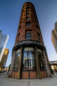 The historic Brown Palace Hotel in Denver, Colorado