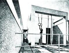 villa dell'architetto Luigi Figini, Milano 1936