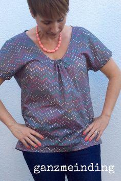 Justanothertee by Schneidernmeistern, sewn by ganzmeinding