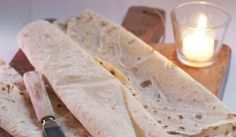 oppskrift på Potetlefser fra Sørlandet Korn, Fodmap, Tapas, Bread, Baking, Healthy, Ethnic Recipes, Brot, Bakken