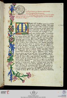 Vatikan, Biblioteca Apostolica Vaticana, Pal. lat. 158 S. Cypriani Opera — 15. Jh.