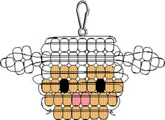 p_lamb1.gif (5479 bytes) I used DELICAS and made this lamb... it's so cute! i just may make it into a ring!
