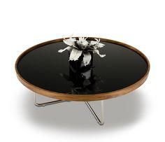 Classy Brown Black Coffee Table