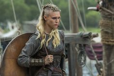 Porunn's dream was to follow in Lagertha's footsteps and become shield maiden.