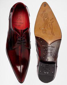 Zapatos Derby de cuero de Jeffery West http://www.99wtf.net/men/mens-accessories/tips-buy-luxury-watches/