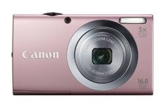 Canon PowerShot A2400 IS 16.0 MP Digital Camera with 5x Optical Image Stabilized Zoom 28mm Wide-Angle Lens with 720p Full HD Video Recording and 3.2-Inch Touch Panel LCD (Pink) by Canon, http://www.amazon.com/dp/B0075SUHGC/ref=cm_sw_r_pi_dp_PP.5pb102F5FE